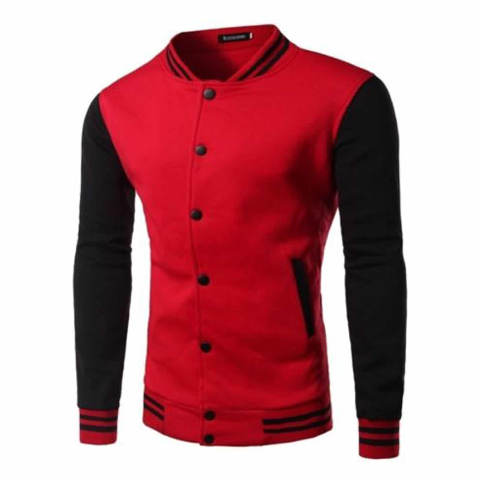 Red Black Letterman Varsity Jacket Made To Measure Kilt And Jacks