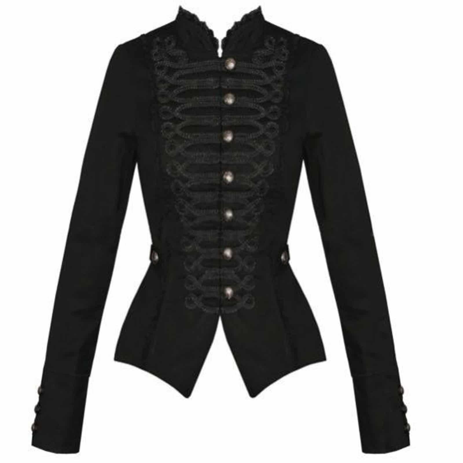 b18b1d4ead6 Black Braided Gothic Corset for Gothic Steampunk - Kilt and Jacks