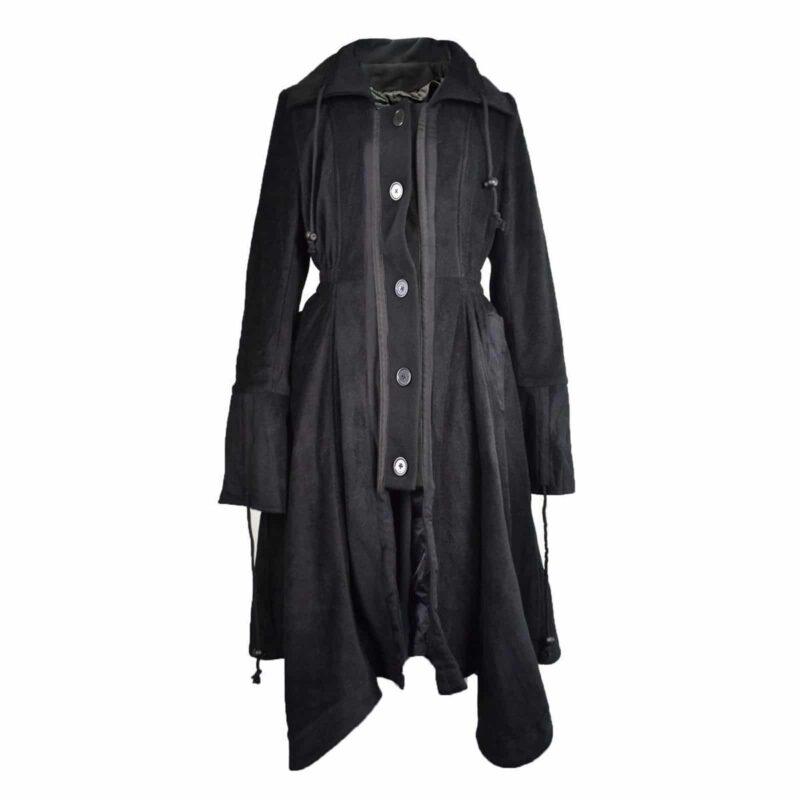 Poizen Industries Black Fleece, Jackets for Women, Gothic Jackets for Women