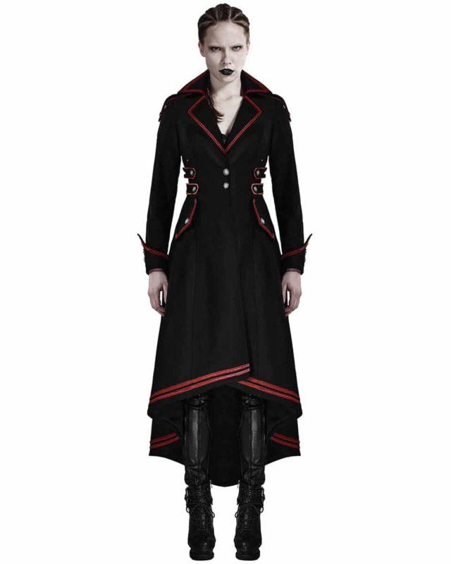 Punk Rave, Steampunk Military Coat Jacket, Gothic Uniform, Best Jackets for Women