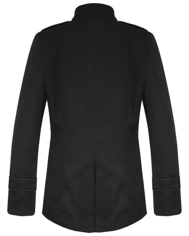 Black Military Jacket Goth Steampunk Vintage Pea Coat, Gothic Clothing, Gaoth Jackets, Jackets for Men, Seampunk jacket for sale, buy steampunk jacket, gothic jacket for sale, buy gothic jacket, goth jacket for sale, buy goth jacket, military jackets for men, military jackets for sale, buy military jackets