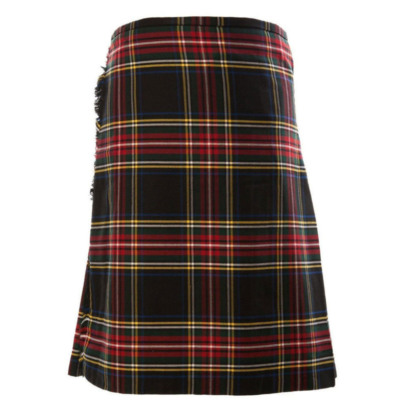 Black Stewart Tartan Kilt , black stewart clan, black kilt, kilt for sale, Black stewart kilt