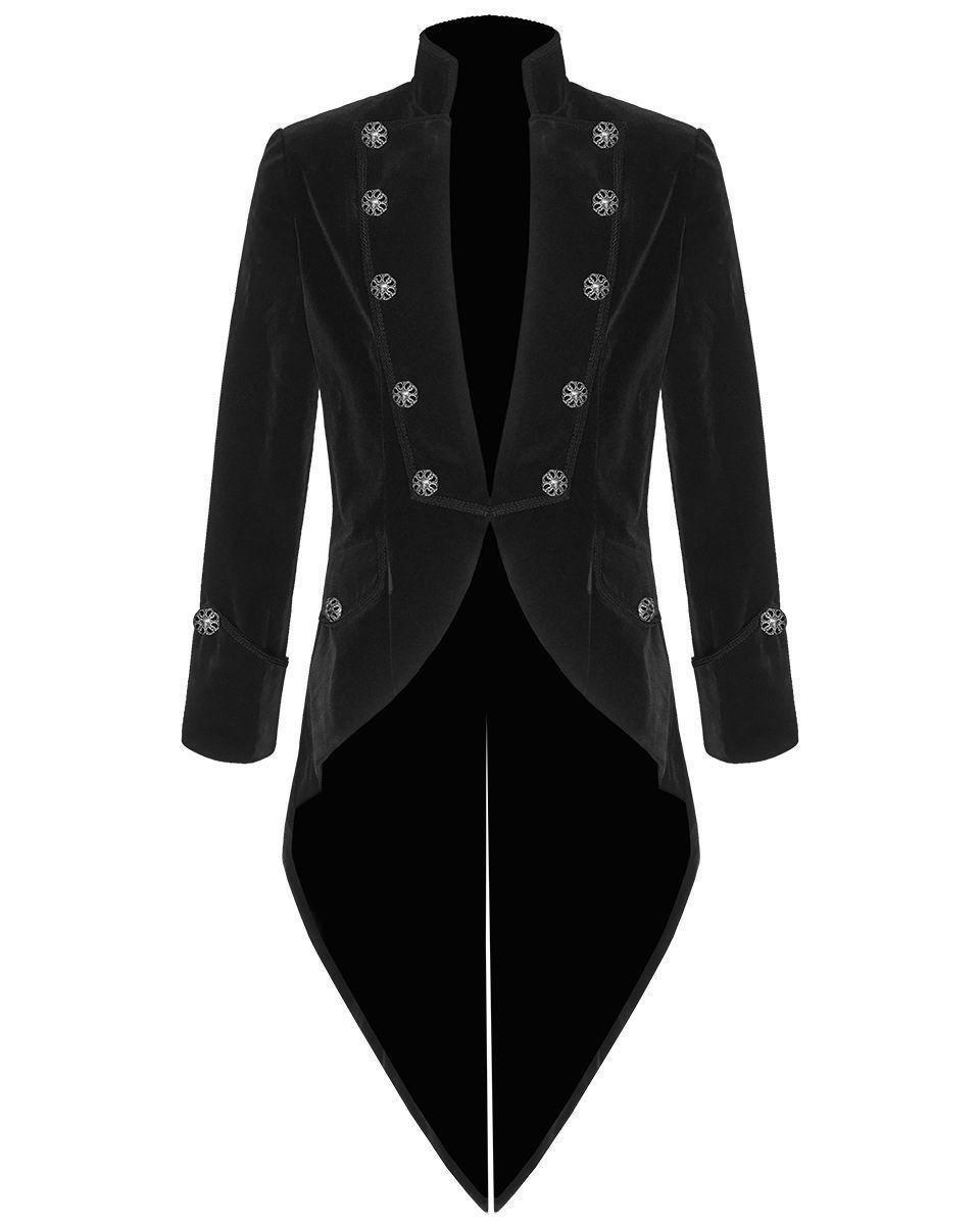 9766b1a8c96f Tail coat Jacket Black Velvet Goth Steampunk Victorian, Gothic Clothing,  Velvet Jackets, Best