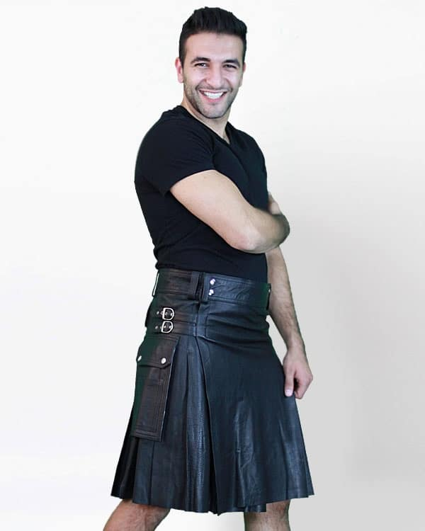 Leather Kilts, Best Kilts, Leather Kilts for Men, Leather Kilts