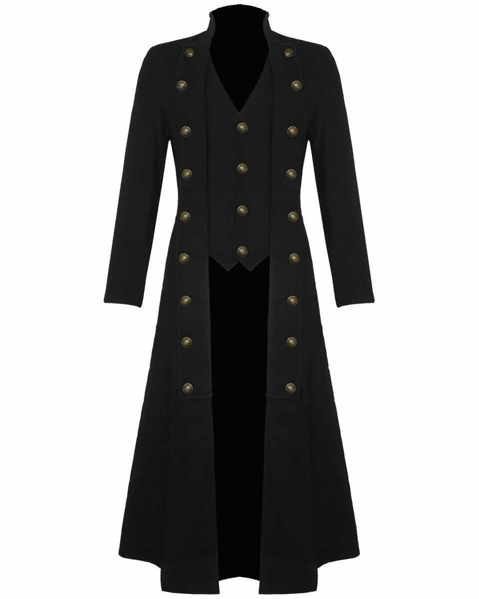 Gothic trench coats women