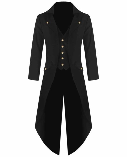 Steampunk Tailcoat Jacket, Best Jackets, Gothic Clothing Jackets