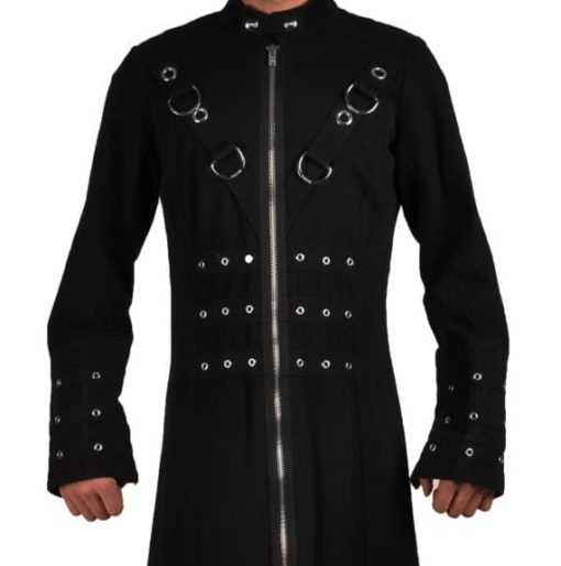 Goth Punk Industrial Vampire Jacket, Gothic Jackets, Jackets for Men, Best Gothic Jacks