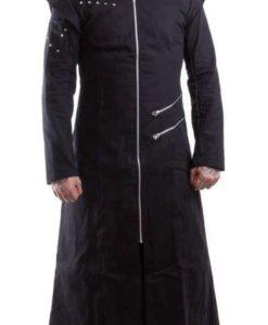 black trench coat goth punk Long Jacket, Gothic Clothing, best clothing, Best Jackets