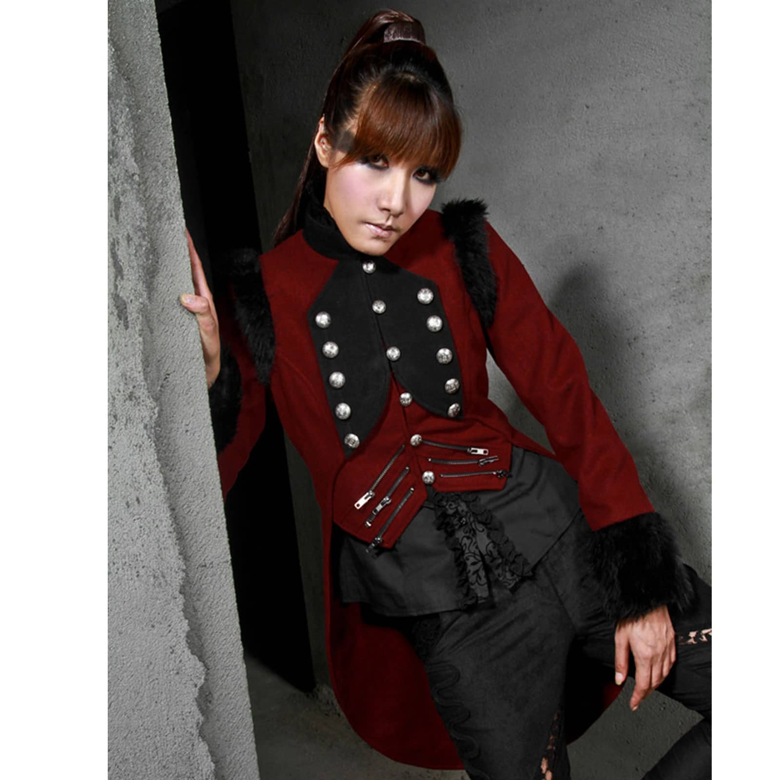 red jacket black single women Bundle up in women's winter coats  layers and components that can be zipped together to form a single jacket  women's jackets women's winter coats hooded .