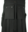 Wilderness Black Utility Kilt-back