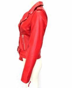 Biker jackets, Brando Red Biker Rock Gothic, Leather Jackets, Gothic Jackets for Women