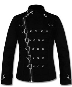 Gothic Tailcoat Jacket, Steampunk VTG Victorian Coat, Gothic Jackets for Men