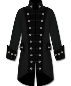 Black velvet trim jacket, best jackets, jackets for men, traditional jackets.
