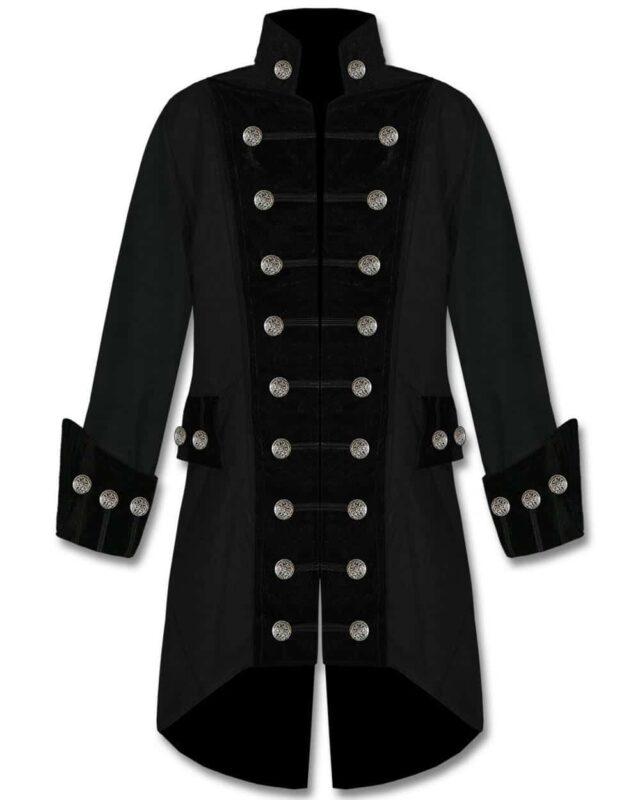 Black velvet trim jacket, best jackets, jackets for men, traditional jackets.