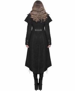 Steampunk Dieselpunk Winter, Women Gothic Jackets, Goth Jackets for Women