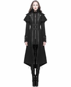 Steampunk Dieselpunk Winter, Women Gothic Jackets, Goth Jackets for Women