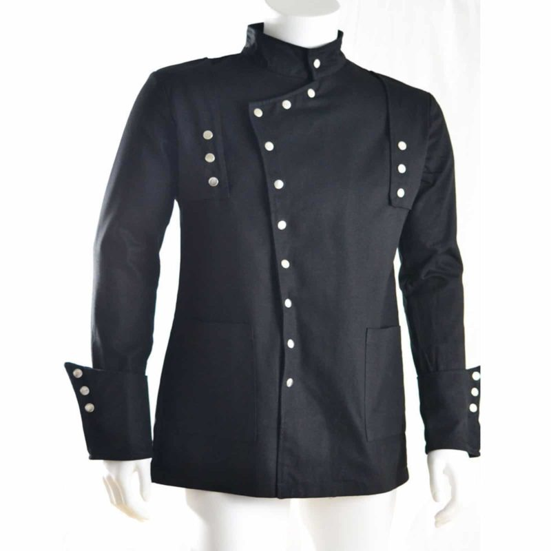 Herren Jacke Loki schwarz,, Gothic Jackets for Men, Best Jackets for Men, gothic jacket for sale, buy gothic jacket, buy military jackets, military jacket for sale, best jacket for sale, gothic jacket for sale
