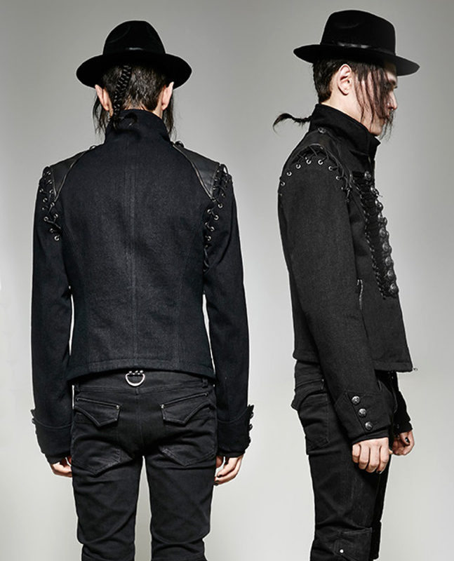 military jacket jeans officer dandy baroque embroidery, Gothic Jackets, Dandy Embroidery, Best Jackets, Seampunk jacket for sale, buy steampunk jacket, gothic jacket for sale, buy gothic jacket, goth jacket for sale, buy goth jacket