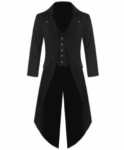 Steampunk Tailcoat Jacket, Gothic Jackets for Men, Best Gothic Clothing