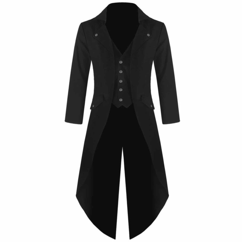 Steampunk Tailcoat Jacket, Gothic Jackets for Men, Best Gothic Clothing, buy gothic jacket, steampunk jacket for sale, gothic jacket for sale, goth jacket for sale, buy goth jackets, buy steampunk jackets