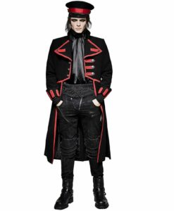 Steampunk Regency Aristoc, Military Jackets, Jackets for Men, Men Gothic Jackets, Goth Jackets for Men