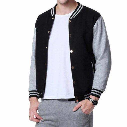 Fleece Varsity Baseball Jacket, Marvel jackets, best jackets for boys, Unisex Jackets