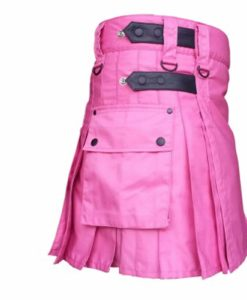 Utility Kilt Highland, Utility kilts for Women, Women Utility kilts, Pink Kilts