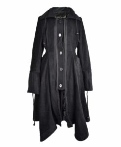 Poizen Industries Black Fleece, Jackets for Women, Gothic Jackets for Women