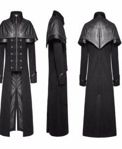 Punk Rave Mens, Long jackets, long coats, Gothic Clothing, Gothic Men's Jacket