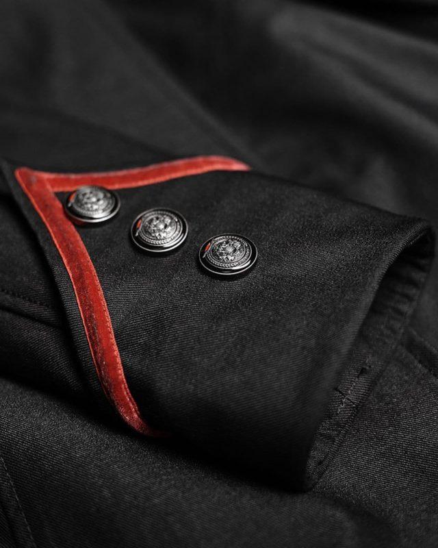 Punk Rave, Steampunk Military Coat Jacket, Gothic Uniform, Best Jackets for Women, gothic jacket for sale, buy gothic jackets, gothic jacoet for sale, miliary jacket for sale, buy military jacket