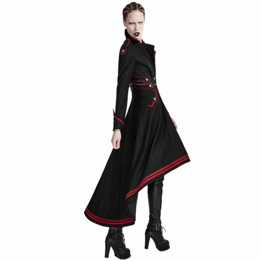 Punk Rave, Steampunk Military Coat Jacket, Gothic Uniform, Best Jackets for Women
