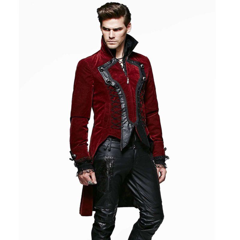 Punk Rave Dandy, Goth VTG Steampunk Velvet Tailcoat, Wedding Jackets for Gothic, Gothic Jackets, gothic jacket for sale, buy gothic jackets, gothic jacoet for sale, miliary jacket for sale, buy military jacket