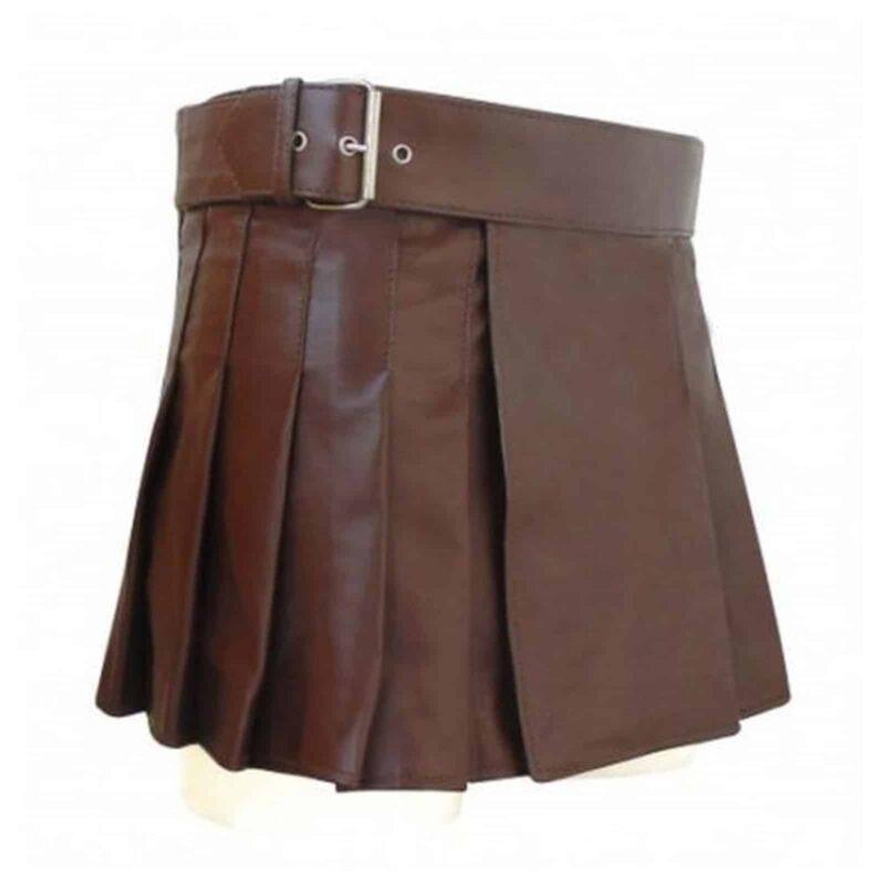 Highland Gladiator Viking Utility Kilt, best leather kilts, utility leather kilts