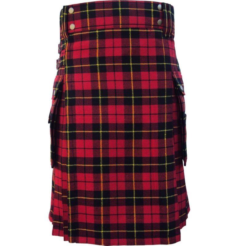 Mcdonald utility kilt, Mcdonald Tartan kilt, Mcdonald tartan, tartan utility kilt, clan Macdonald kilt, Clan Macdonald tartan