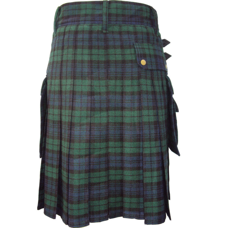Blackwatch utility kilt, blackwatch tartan utility kilt, Blackwatch tartan, Blackwatch utlity kilt for sale, Blackwatch Tartan, Clan Blackwatch
