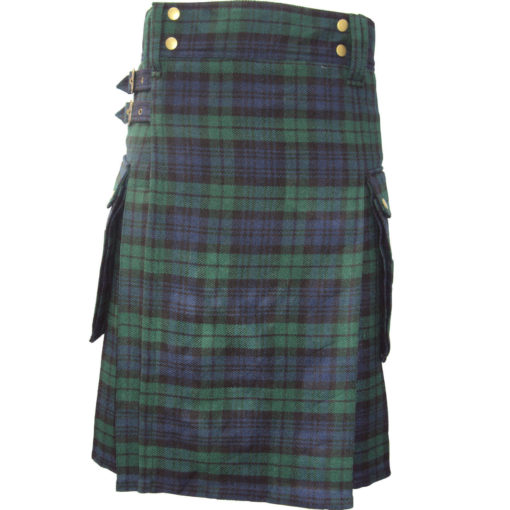Scottish Heritage of Ireland Tartan Highland Utility Active Men Prime New Kilts
