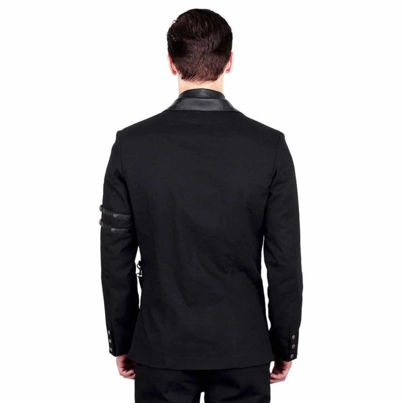 Jacke Herren schwarz Gothic black jacket, Vintage Jackets for Men, Gothic Jackets for Man, gothic jacket for sale, buy gothic jackets, gothic jacoet for sale, miliary jacket for sale, buy military jacket