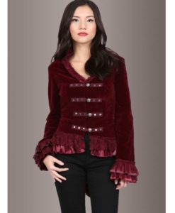 Women Jacket, Velvet Jackets, best velvet jackets, Best jackets to wear, Women Gothic Jackets