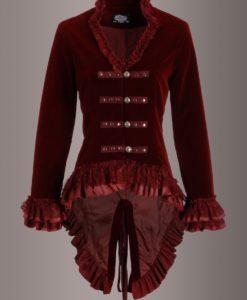 Women Jacket, Velvet Jackets, best velvet jackets, Best jackets to wear, Women Gothic Jackets