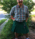 Green-Outfit-Fashion-Utility-Kilt-Model-front
