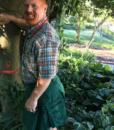 Green-Outfit-Fashion-Utility-Kilt-Model-side-pose