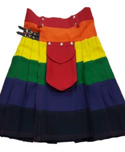 Utility kilt, LGB kilt, Rainbow Kilt, Gay Kilts, Kilt for Gay