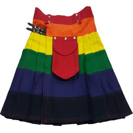 Utility kilt, LGB kilt, Rainbow Kilt, Gay Kilts, Kilt for Gay