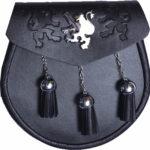 3-tassel-black-leather-sporran