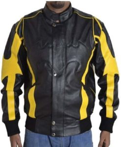 Batman leather jacket, leather jacket, black leather jacket, jacket for man