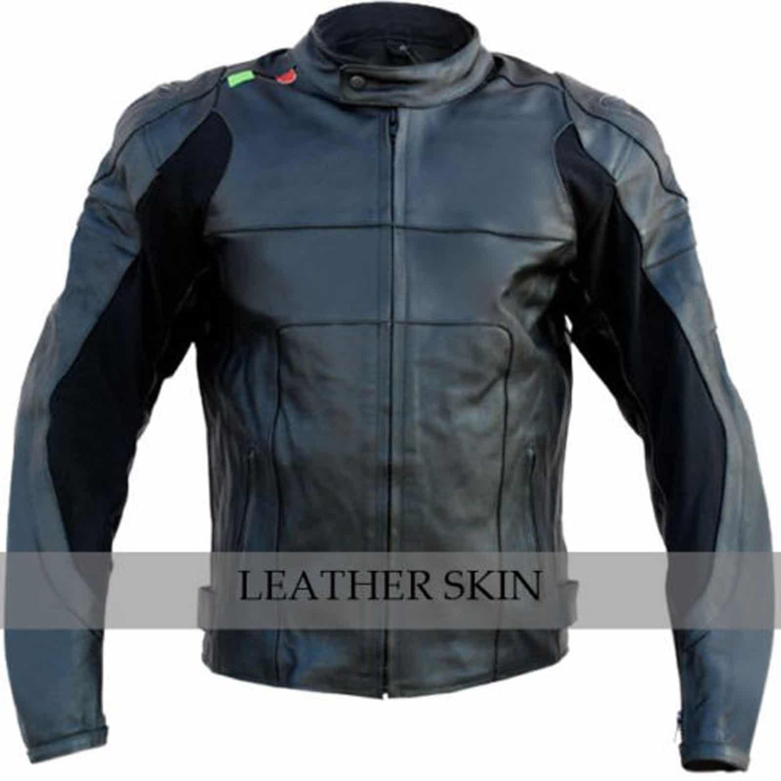Leather jacket bike