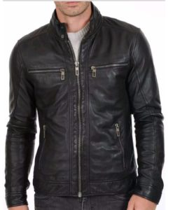 leather jacket, biker jacket, leather jacket, black jacket