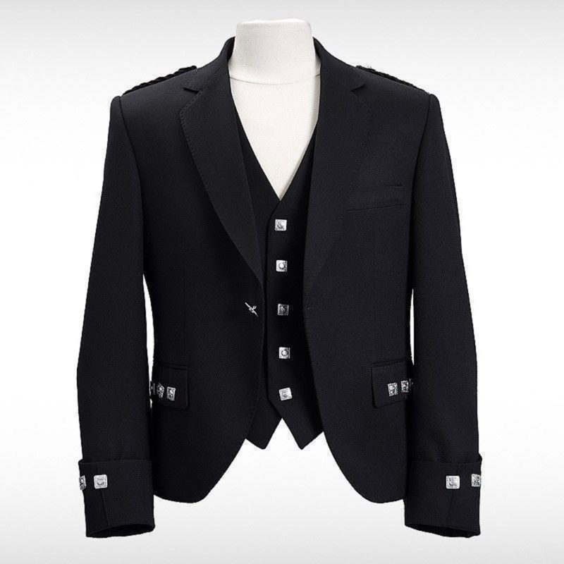 Argyle jacket, black argyle jacket, argyle jacket for sale, black argyle jacket for sale, best argyle jacket, argyle jacket for men, argyle kilt jacket, argyll kilt jacket