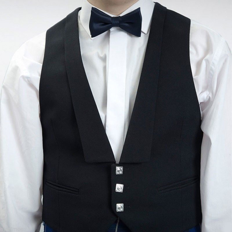 Prince Charlie vest, Vest, Black vest, Scottish Vest, Scottish wedding vest, Vest for sale, buy vest, buy black vest
