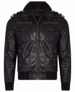 Vintage jacket, vintage leather jacket, jacket for men, leather jacket
